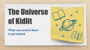 universe of kidlit